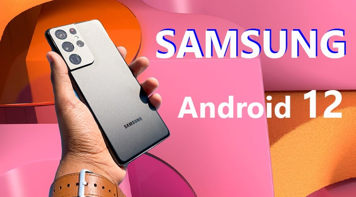 Samsung launches Android 12 Beta